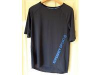Superdry Sport Active Fit Mens Shirt - Size Medium