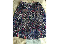 M&S matching skirt (30 inch length) & top size 14 Classic collection brand