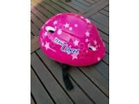 Girls Small cycle helmet
