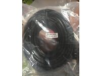 2 x 20m hdmi cables