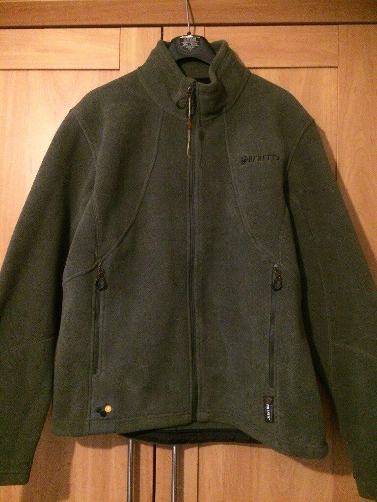 5e80f488aef Beretta Active Track Mens Fleece Jacket