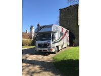 7:5tonne MAN horsebox .. totally reliable.. very low mileage.