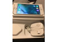 Iphone 6 gold 64gb unlocked, ok condition, fully working with box charger, headphones