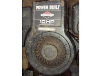 Briggs and Stratton 10 HP engine for ride on mower