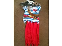 5-6 BRAND NEW Pirate Halloween/Party Costume ONLY £3