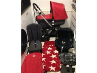 **BARGAIN**BUGABOO CAMELEON** MAXI COSI Car Seat **CARRYCOT**FOOTMUFF **Extras **EXCELLENT CONDITION