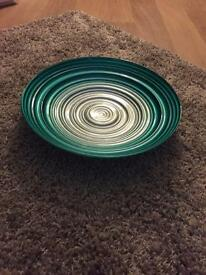 Next teal bowl