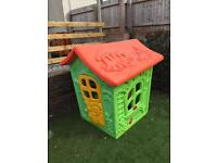 Child's Wendy House made of plastic