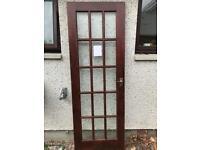 Door #3 glass door internal VGC