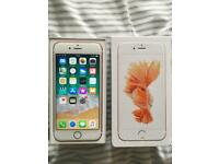 iPhone 6S Unlocked 16GB Rose Gold Immaculate Condition boxed