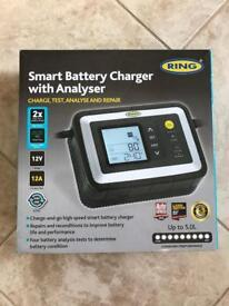 Ring 12a smart battery charger