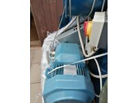 abb electric motor 11kw used but very good