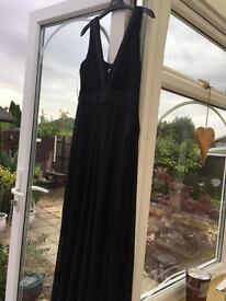 Black dress petite size 14