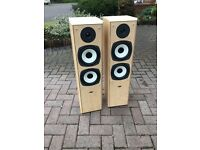Pair Of Eltax Symphony Floor Standing Speakers