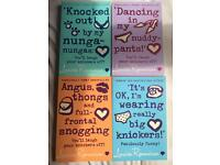 Angus thongs book collection