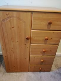 Tallboy small wardrobe