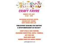 CRAFT FAYRE/FAIR FUN JULY 15TH GORING WEST SUSSEX