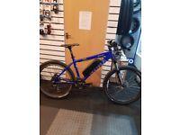 Electric bike, Kona Scrap, has Ebike conversion