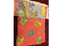 Lion king bedding cover