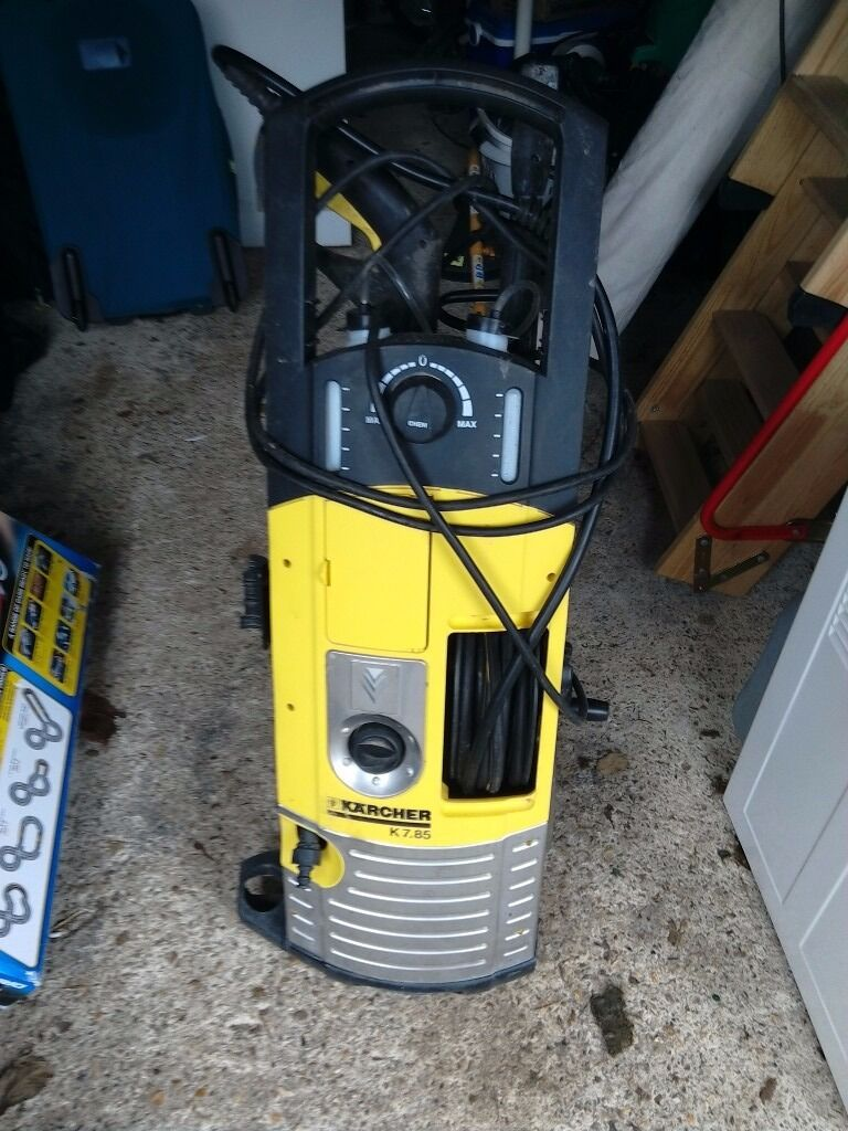 Karcher pressure washer with 160 variable pressure with lance and nozzle vgc o in - Karcher k7 85 ...