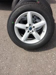 BRAND NEW TAKE OFF 2016 FORD   EDGE / EXPLORER 18 INCH  ALLOY WHEELS WITH MICHELIN HIGH PERFORMANCE  245 / 60 / 18 TIRES
