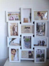 Arpan white multi photo frame