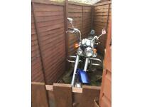 Kinroad 125 cc crusier 1066 miles from new