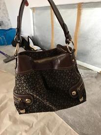 Ladies Brown Genuine DKNY bag