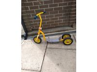 Free: vintage child's 'Bob the Builder' scooter