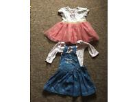 2 x Baby Girl Bundle Dresses 3-6 months