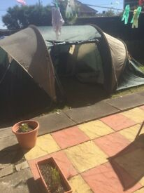 6 man, 2 bedroomed tent