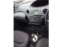 Toyota yaris semi automatic 1.0 liter 5 doors 2004