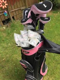 Ladies Confidence Golf Clubs Set