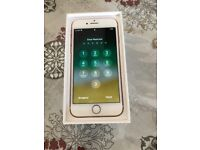 Apples IPhone 7 rose gold 32gb unlocked very nice with receipt
