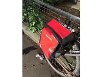 Two Ortlieb waterproof bicycle panniers (bike bags) in great condition, with shoulderstrap