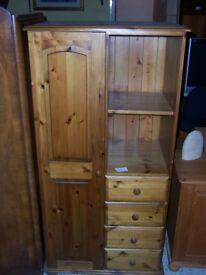 Pine wardrobe at Cambridge Re-Use (cambridge reuse)