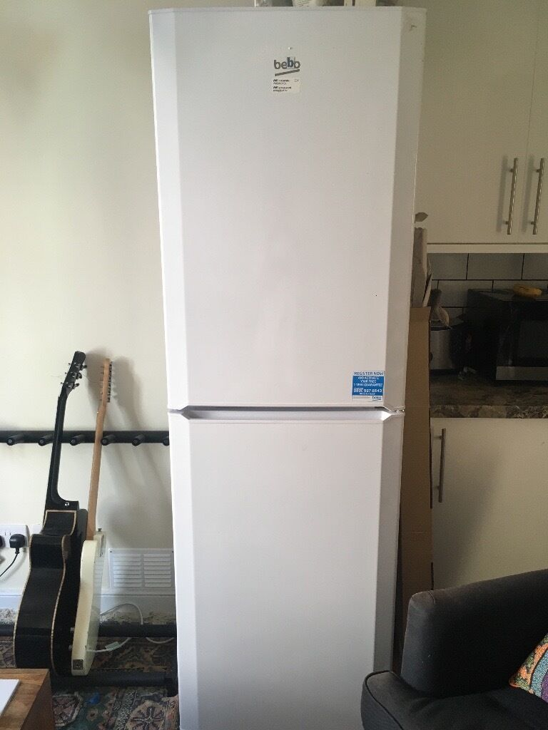 FRIDGE FREEZER BARELY USED, COLLECTION ONLY