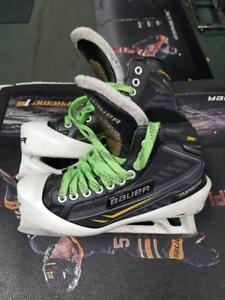 Used Bauer One.7 Size 6D Goalie Skate