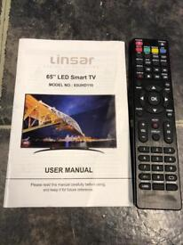 for sale 4k LINSAR 65UHD110 LED-LCD TV UHD TV