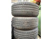 Bmw E34 alloys and tyres