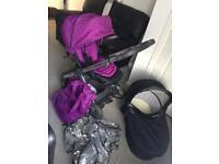 Babystyle oyster pram pushchair stroller