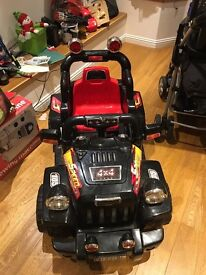 Toy electric car for sale hardly used, great condition