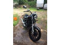 Daelim daystar 125cc motorbike
