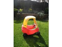 Little Tikes Red & Yellow Car - two