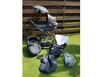 Babystyle Pram *New Condition~Pram~Buggy~Car Seat~Plus Extras*