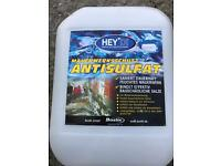 Anti sulphate chemicals for damp proofing