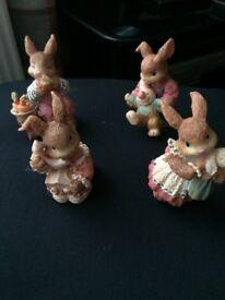 Set of Rabbits