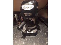 Coffee Machine (DeLonghi EC 250.B Espresso)