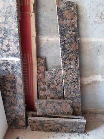 Granite worktop large pieces