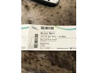 bruno mars tickets for sale cant make it just want what i paid for them